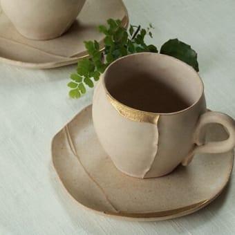 京焼のカップ
