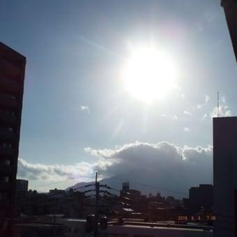 2019年08月03日(土) 快晴。 風が、強い(台風8号)。。