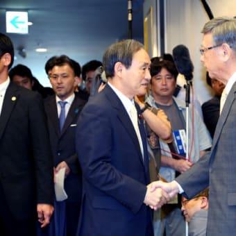県知事が売国奴では沖縄県の安全も危うい