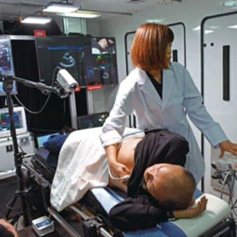 日高川町  川上診療所と医大で遠隔診療試験  心エコーや心電図を「5G」で伝送 〈2020年1月10日〉