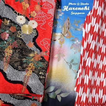 4/27 成人式着物・卒業式袴 入荷しました。札幌写真館フォトスタジオハレノヒ