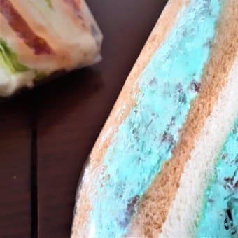 パン屋探訪・札幌(22) サンドリアのチョコミントサンド