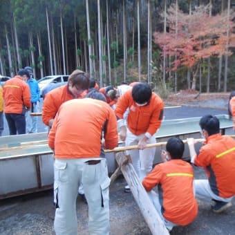 林業大学校の北山林業研修(その1)