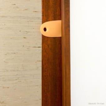 猛獣化・・・猫のドア開け防止策