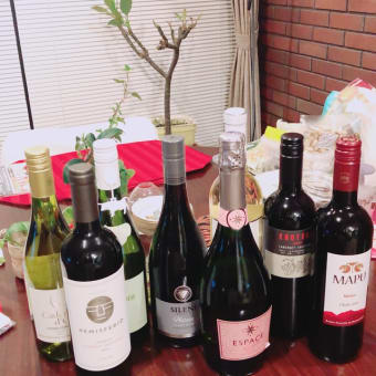 ワイン10本で1万円なり!おまけに送料込み、喜んで購入