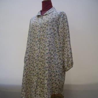 正絹小紋の着物からブラウス(オーダー)