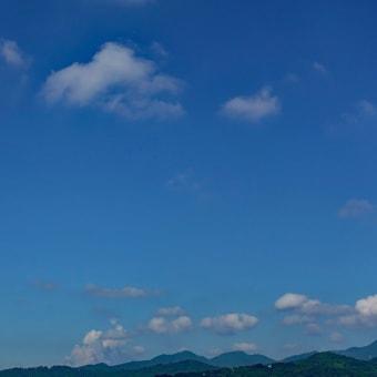 青い空白い雲です空倶楽部♪