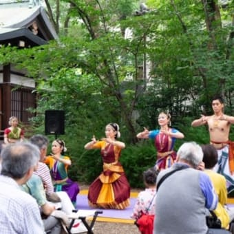 堀越神社の夏祭り