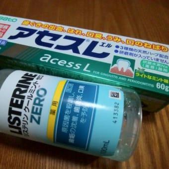 100均のフェイクフラワーでリースとお汁粉、口内炎を治す。
