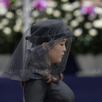 世界配信された「斂葬の儀」