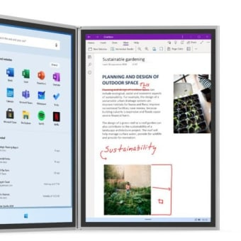 Microsoft  「Surface Neo」「Surface Duo」