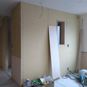 千住大橋の家-工事中(1)