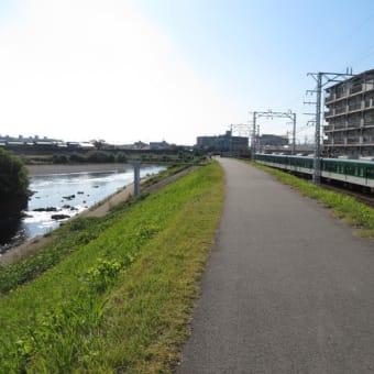 宇治川伏見ぶらぶら散歩(1)~山科川・宇治川合流地点