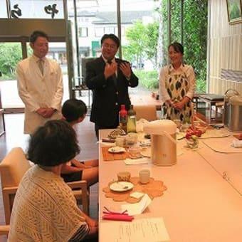7月26日 夏休み特別企画 小野園「親子日本茶教室 in とらや」