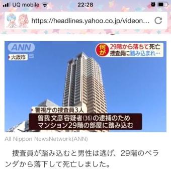 (;゚д゚) 窓が開くのが怖い気もしますが、タワマンの高層階にもベランダはあるんですね。