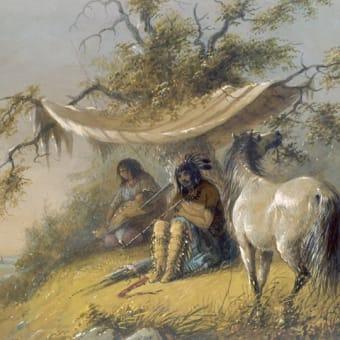 「インディアン絵画の画家」アルフレッド・ジェイコブ・ミラー(Alfred Jacob Miller)の絵画