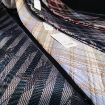 八王子織物のネクタイ
