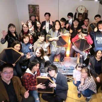 大久保宙 aFrame workshop in Beat Box Cafe