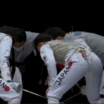 フェンシング男子フルーレ団体 準決勝 日本vsフランス