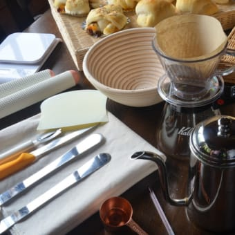 NHK文化センターのパンとコーヒーが一緒に楽しめる「天然酵母パンとコーヒー講座」、申込受付中です。