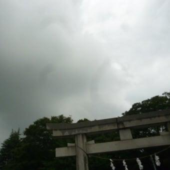 空模様の変化が忙しい…(-_-)ウーム  気になる台風5号
