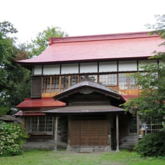 散策!北海道(6) 「だて歴史文化ミュージアム」を見学し、NHK「知恵泉」で紹介された「迎賓館」を拝見する