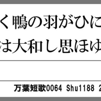 万葉短歌0064 葦辺行く0049