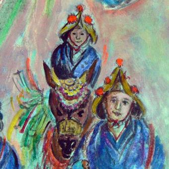17-東日本大震災を描く  邦の宝・伝統文化・祭り