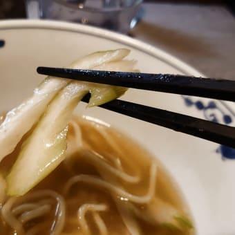 西横浜・一酵や で 冷しラーメン