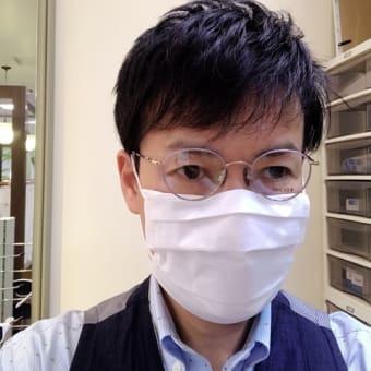 季節を意識して「 マスク 」が似合うメガネをセレクトしてみました