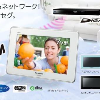携帯液晶TVを購入(セカンドハウス用)