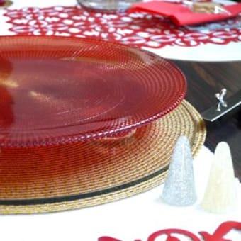 12月 ルビー・クリスマスのテーブル