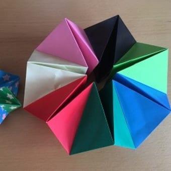 折り紙 万華鏡 の 作り方