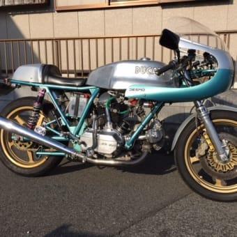 ドゥカティ 900MHR ベベル イモラ仕様 最終型フルカスタム 希少なバイクの買取です(^^)/