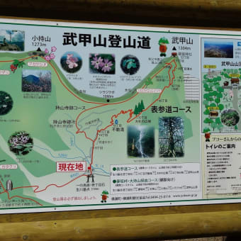 2013/05 武甲山登山