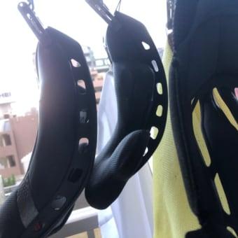 ヘルメットの内装お洗濯