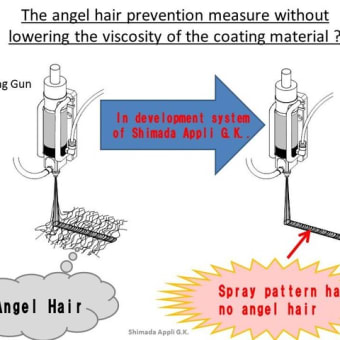 New conformal coating system that does not spinnability(angel hair) by FSCC06 Selective Spray Coater