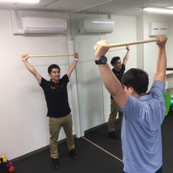 小田原ケアセンターで個別トレーニング