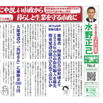 関東建設にやさしい市政から暮らしと生業を守る市政に‐太田市3月議会で論戦・追及