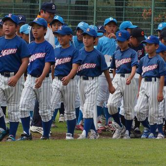 北本交流大会開会式 日ハム杯夏季野球大会