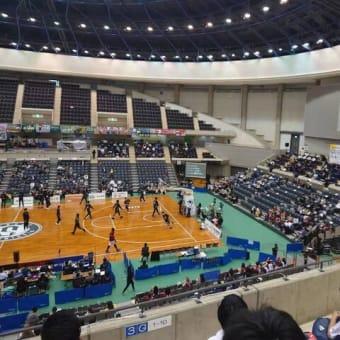 西宮ストークス試合観戦@グリーンアリーナ神戸