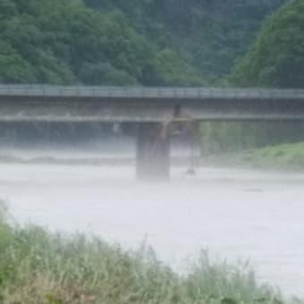 7月8日 上流で集中豪雨