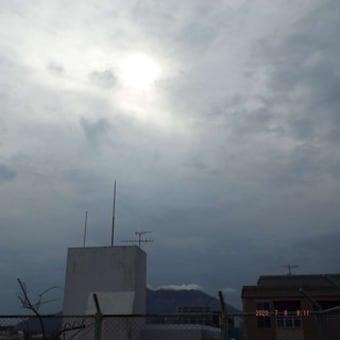 2020年07月08日(水) 曇り(雨が降り出しそう)。 ⇒ 夕刻から、雨。。