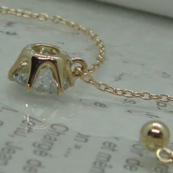 一粒ダイヤモンドネックレスのオーダーメイド