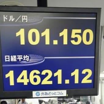 ◇円安ついに1ドル100円の壁を突破!~アベノミクスの実体経済効果は?