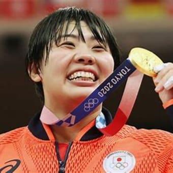 オリンピック 柔道女子 素根輝が金メダル 78キロ超級