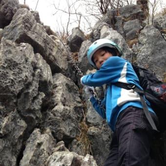 3月29日 秩父二子山西岳 登頂