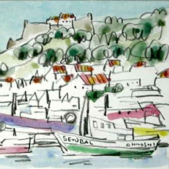 1808. サン・フィリッペ城とセトゥーバル漁港