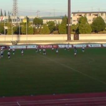 FC刈谷VS佐川印刷戦を観戦する。