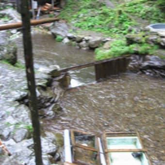 09年夏キャンプ…鳩ノ巣その2